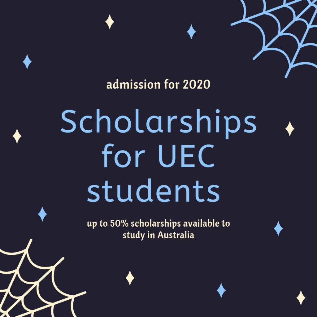 Scholarship for UEC students 2019