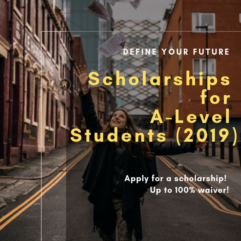 scholarship for a-level students 2019 study in malaysia