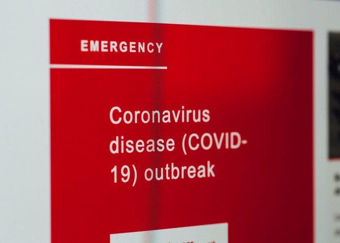 Coronavirus disease outbreak (COVID-19) – warning alarm message statistic