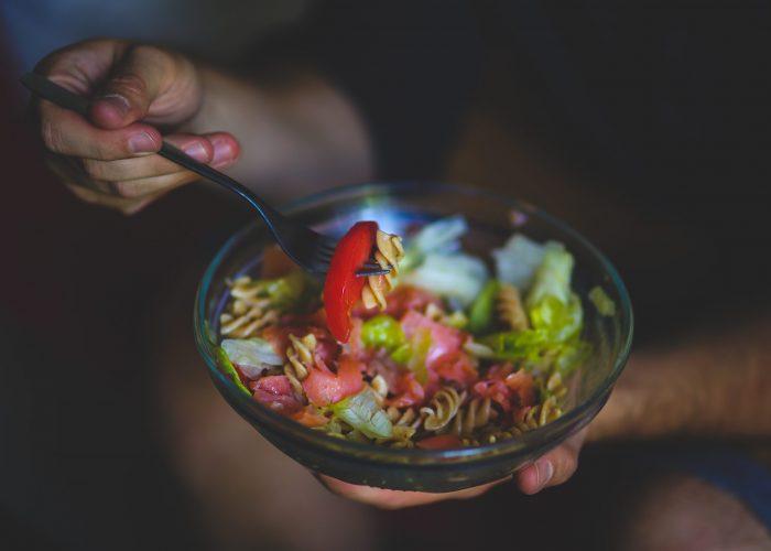 Canva - Eating salad