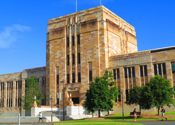 Study engineering in University of Queensland